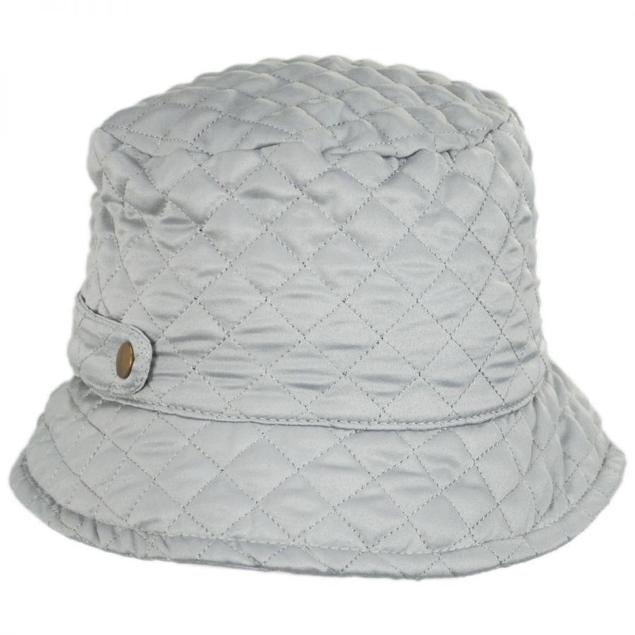Scala Quilted Rollup Rain Bucket Hat Rain Hats 30554d113b0