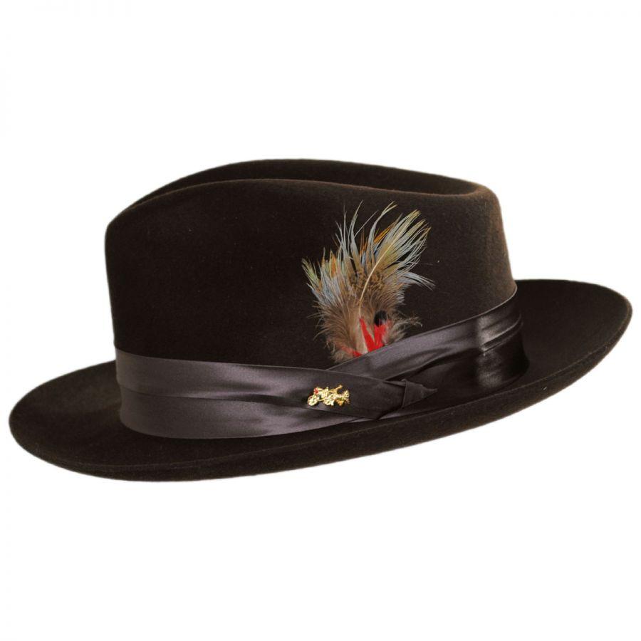 cf9a06ea058c9 Dobbs Temptation Fur Felt Fedora Hat Fur Felt