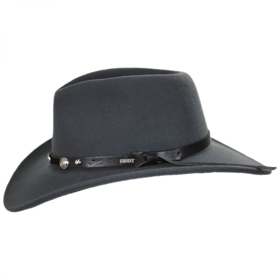 4c14583d6ec96 Eddy Bros Wild Flush Wool Western Hat Western Hats