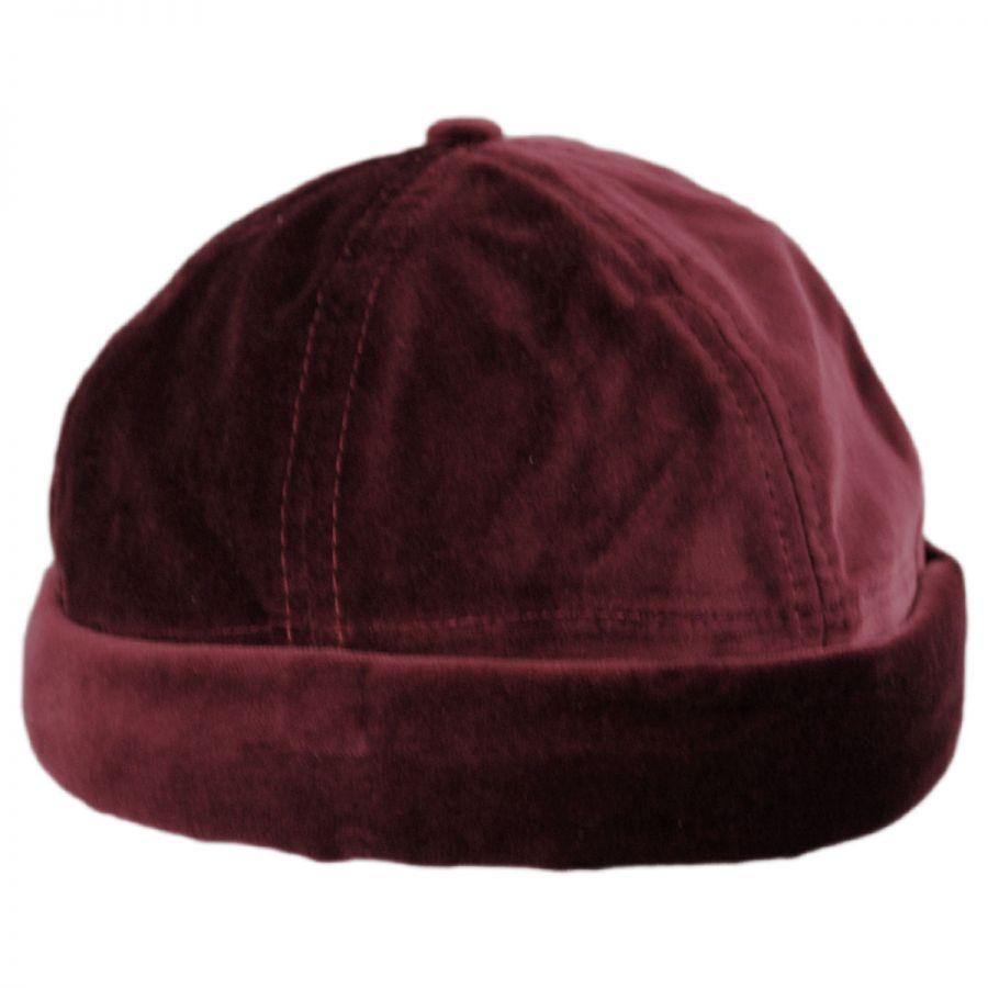 in stock 6b966 8d8bd Velvet Cotton Skull Cap in