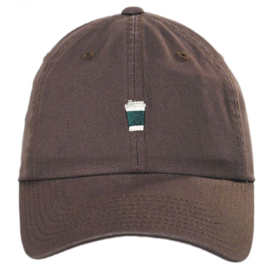 American Needle Coffee Micro Cotton Strapback Baseball Cap All ... 6b5e232fc7f