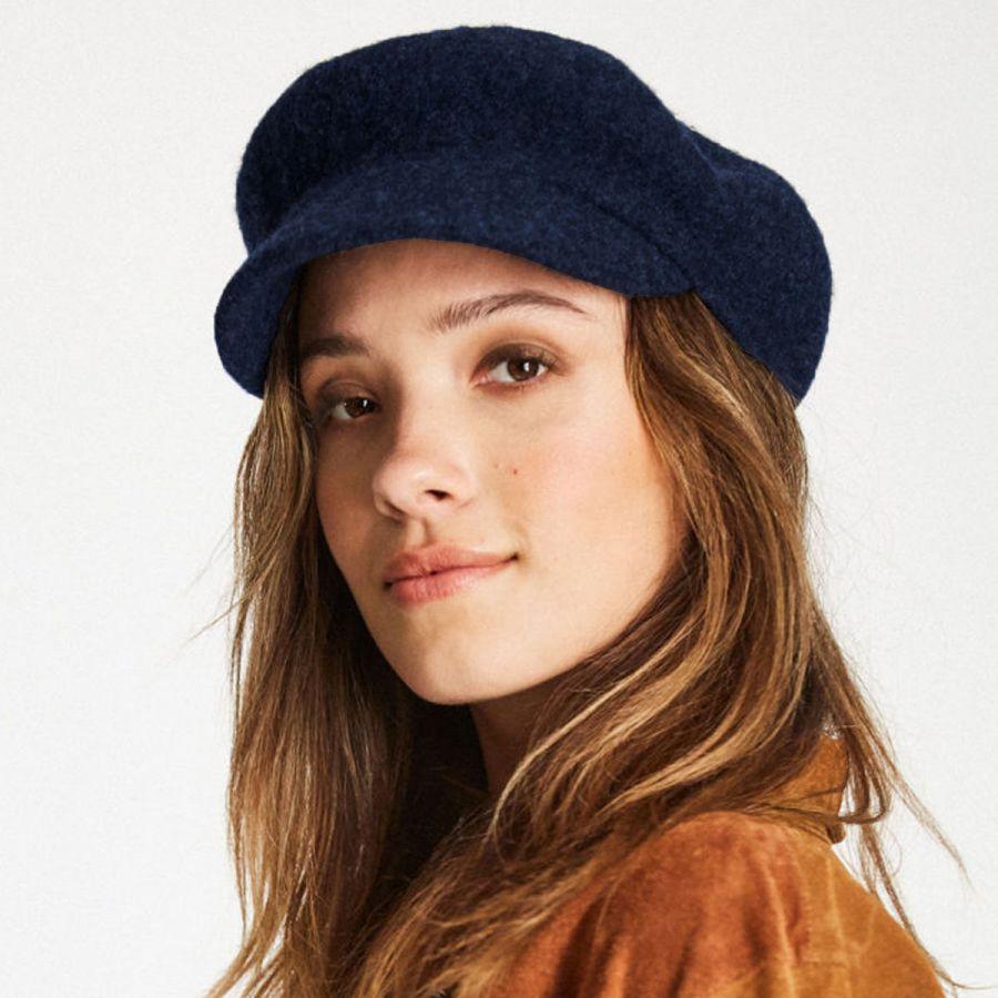 Brixton Hats Audrey Brim Wool Blend Beret Berets 8da13a235fea