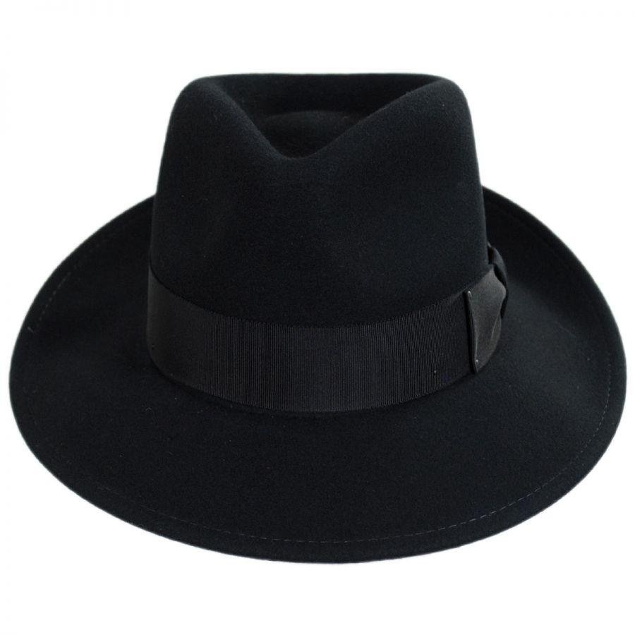 0930f7338cd Bailey Packable Litefelt Wool Fedora Hat All Fedoras