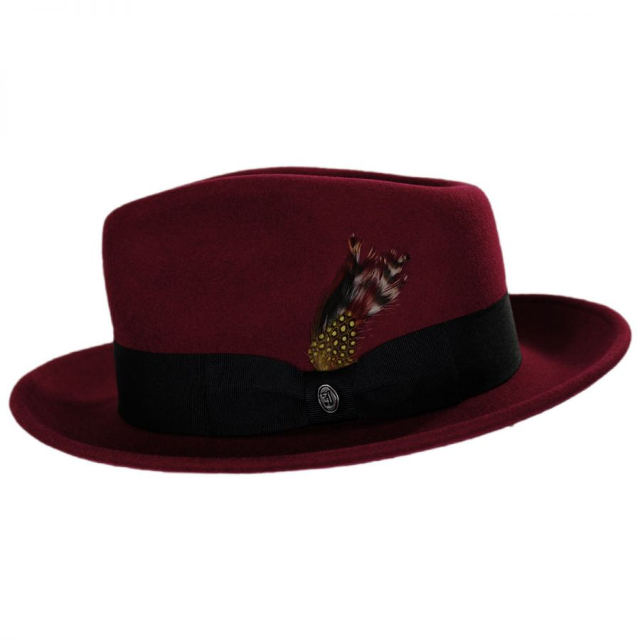 29c9b586c7799 Jaxon Hats Pachuco Crushable Wool Felt Fedora Hat All Fedoras