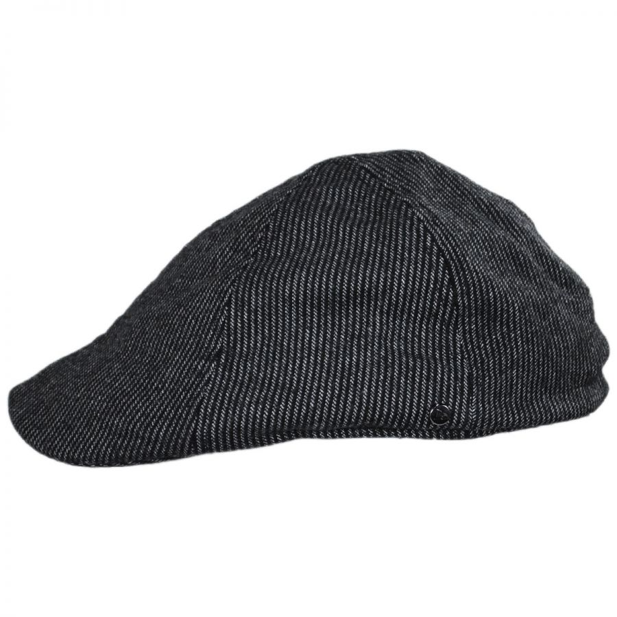 EK Collection by New Era Pinstripe Wool and Cotton Blend Duckbill ... 0c102cf498a2