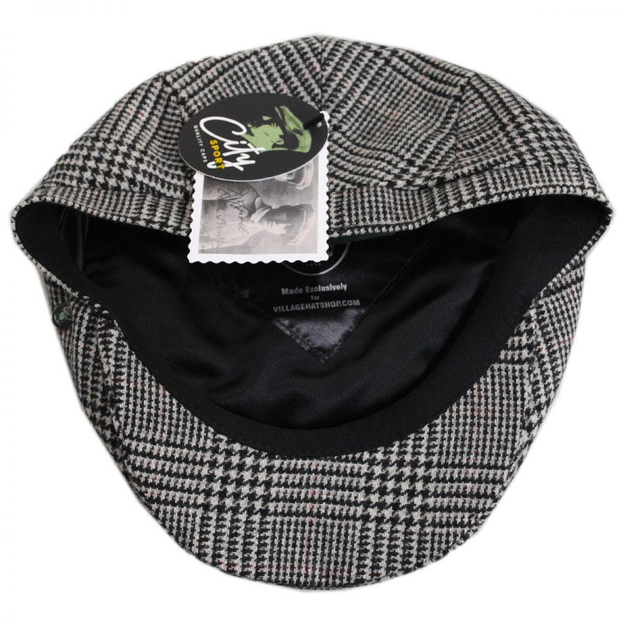 City Sport Caps Cashmere and Wool Glencheck Ivy Cap Ivy Caps de041530318
