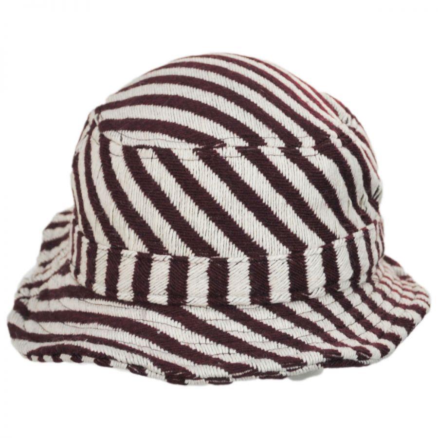 BRIXTON Damen Bucket Hardy-Stripe Hat
