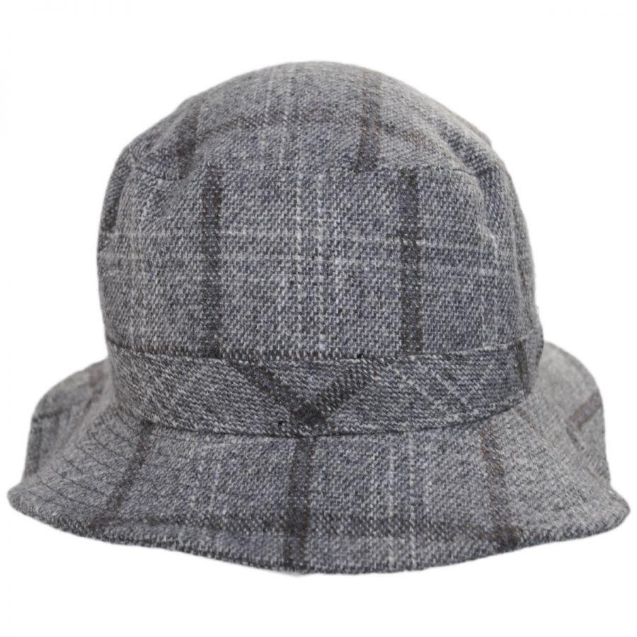 Brixton Hats Hardy Plaid Wool Blend Bucket Hat Bucket Hats b687bcf8d147