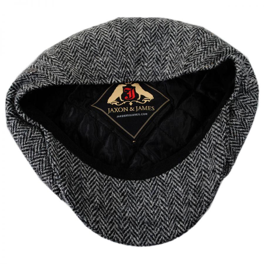 c8877f5936a Jaxon Hats Harris Tweed Castlebay Wool Newsboy Cap Newsboy Caps