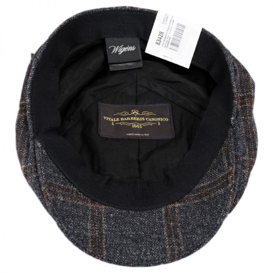38c1aa186cc Vitale Barberis Canonico Wool Silk Linen Duckbill Ivy Cap in · Wigens Caps