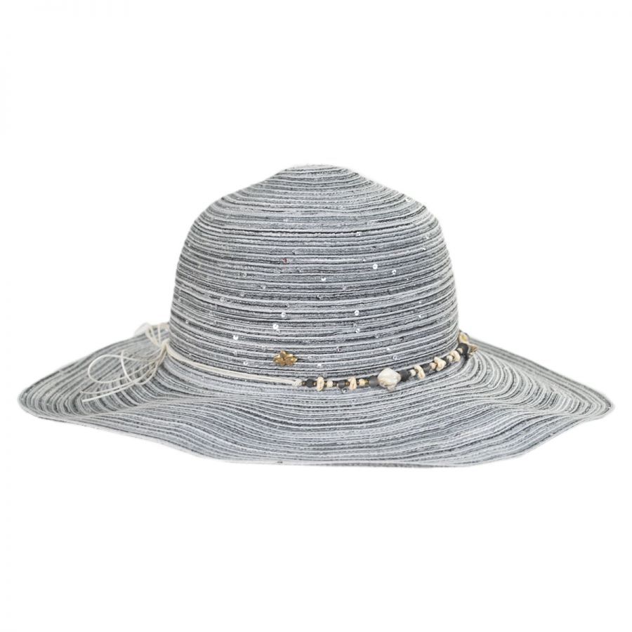 Cappelli Straworld Perdido Straw Blend Facesaver Hat Sun Hats 1792436c8289