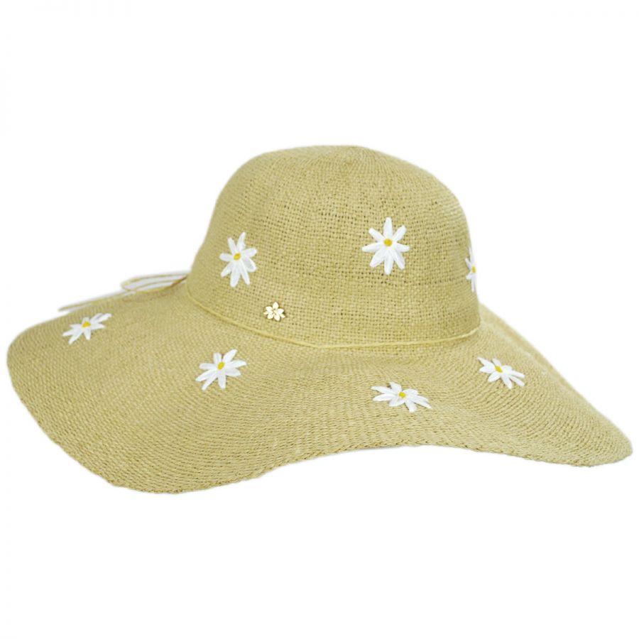 Cappelli Straworld Carolina Daisy Toyo Straw Floppy Hat Sun Hats d7ccf53d376