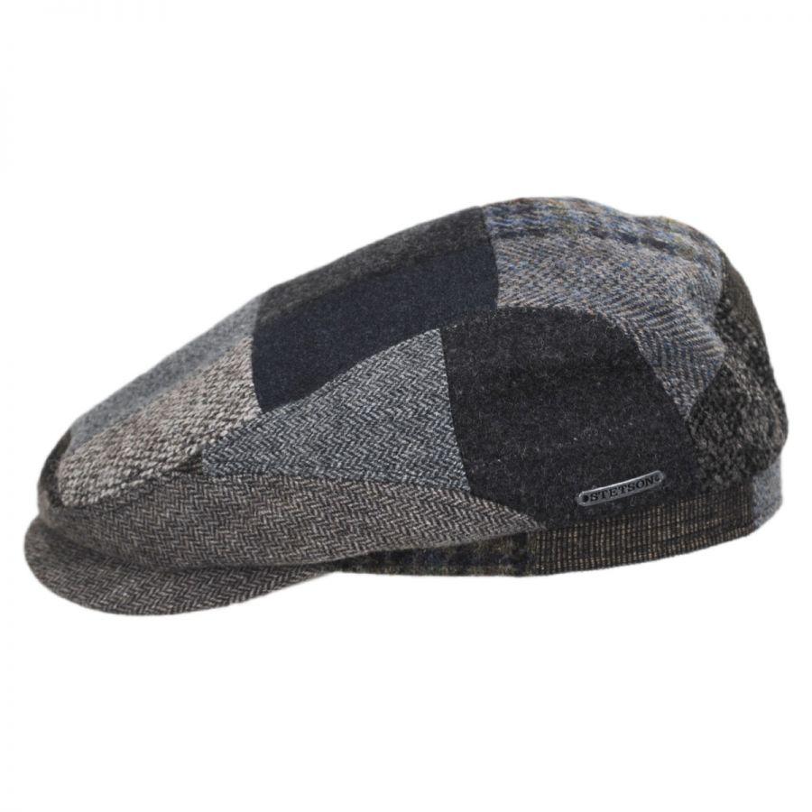 Stetson Patchwork Wool Blend Ivy Cap Ivy Caps 3f79fcf622