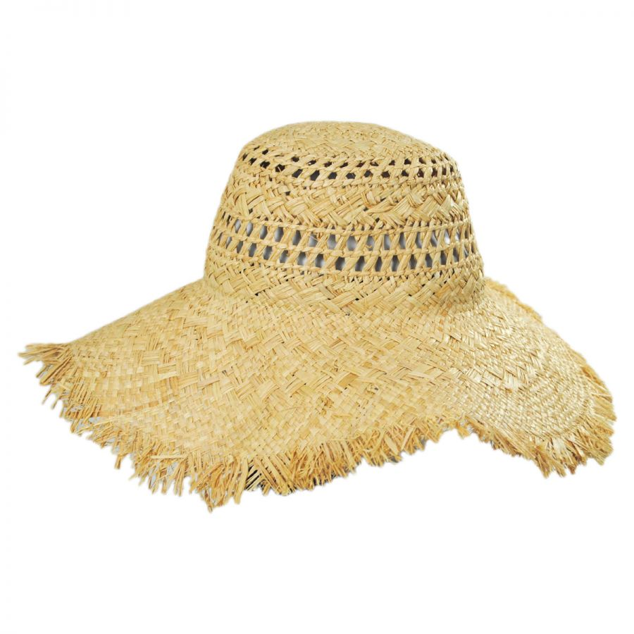 Brooklyn Hat Co Giselle Raffia Straw Floppy Sun Hat Sun Hats ff8a1e35889