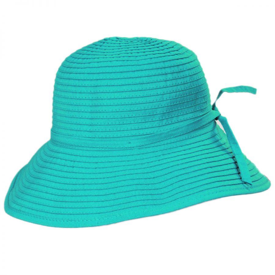 Scala Seashell Ribbon Kids Sun Hat View All 4dbe45fa288