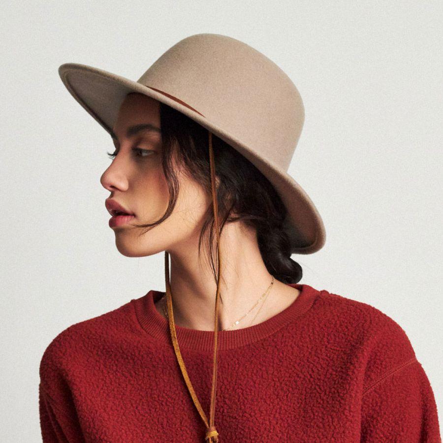 8ce0aebc85e Brixton Hats Tiller Packable Wool Felt Wide Brim Hat View All