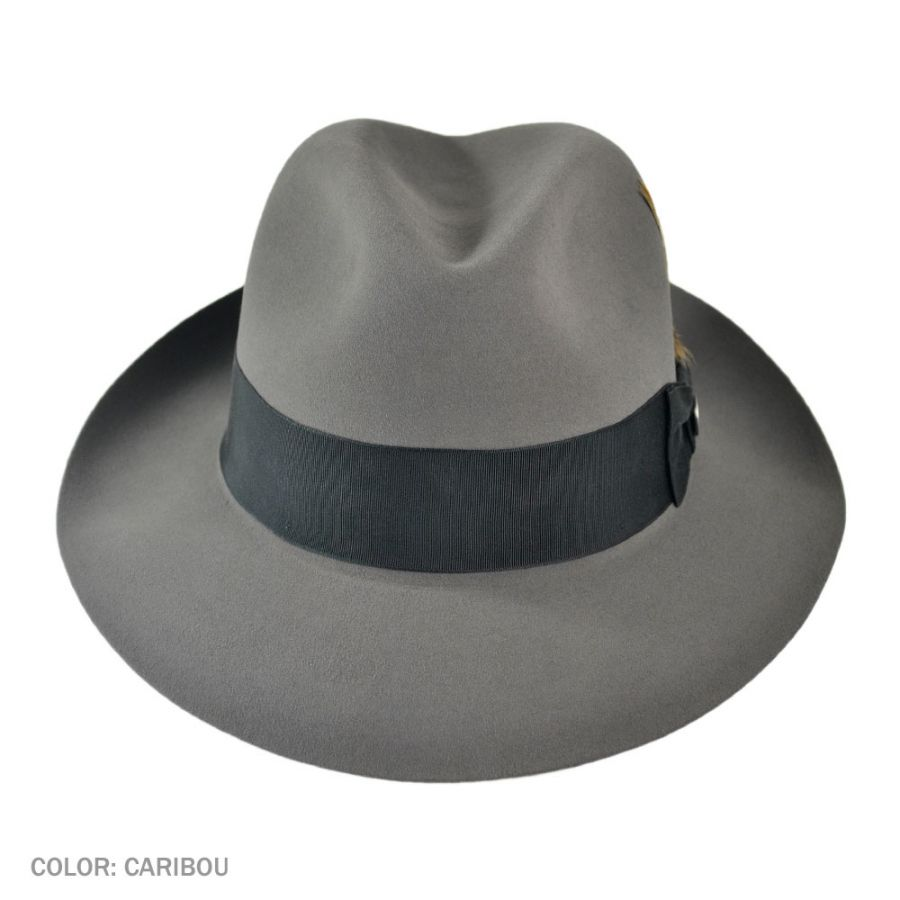 eb63549628631 Stetson Pinnacle Beaver Fur Felt Fedora Hat All Fedoras
