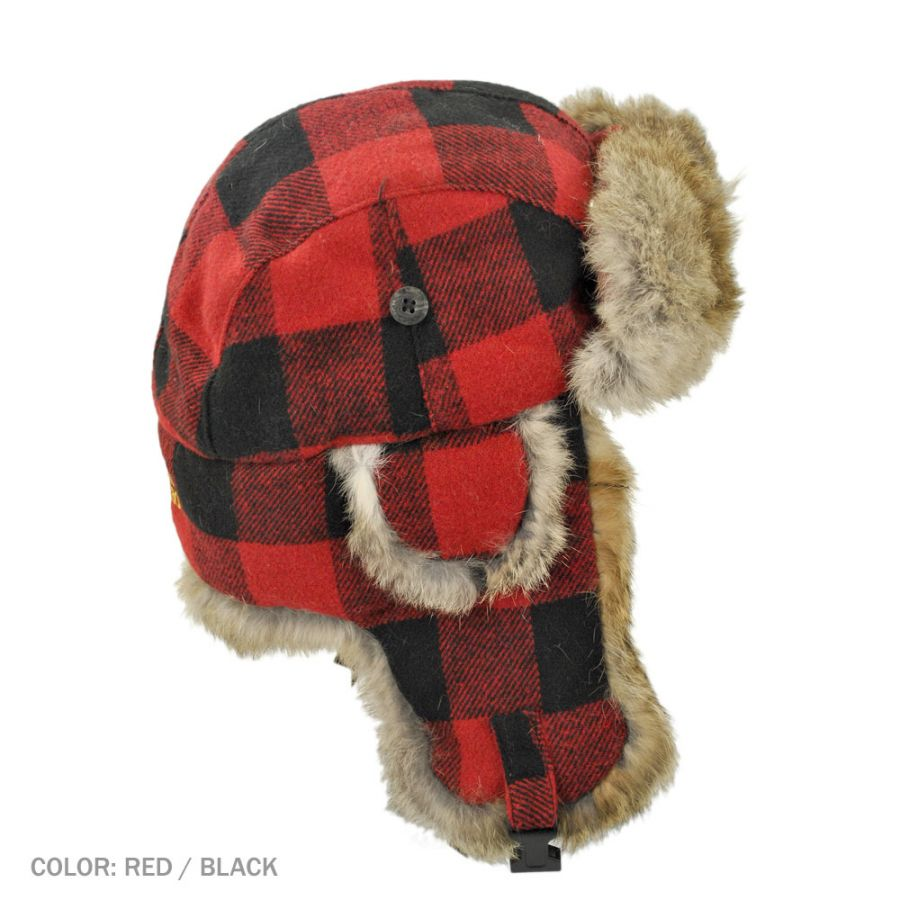 Lumberjack Hat Etsy Source Paul Bunyon Red And Black Buffalo Plaid View Images