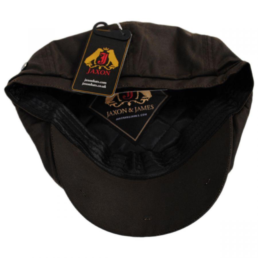 Jaxon Hats British Millerain Wax Cotton Newsboy Cap