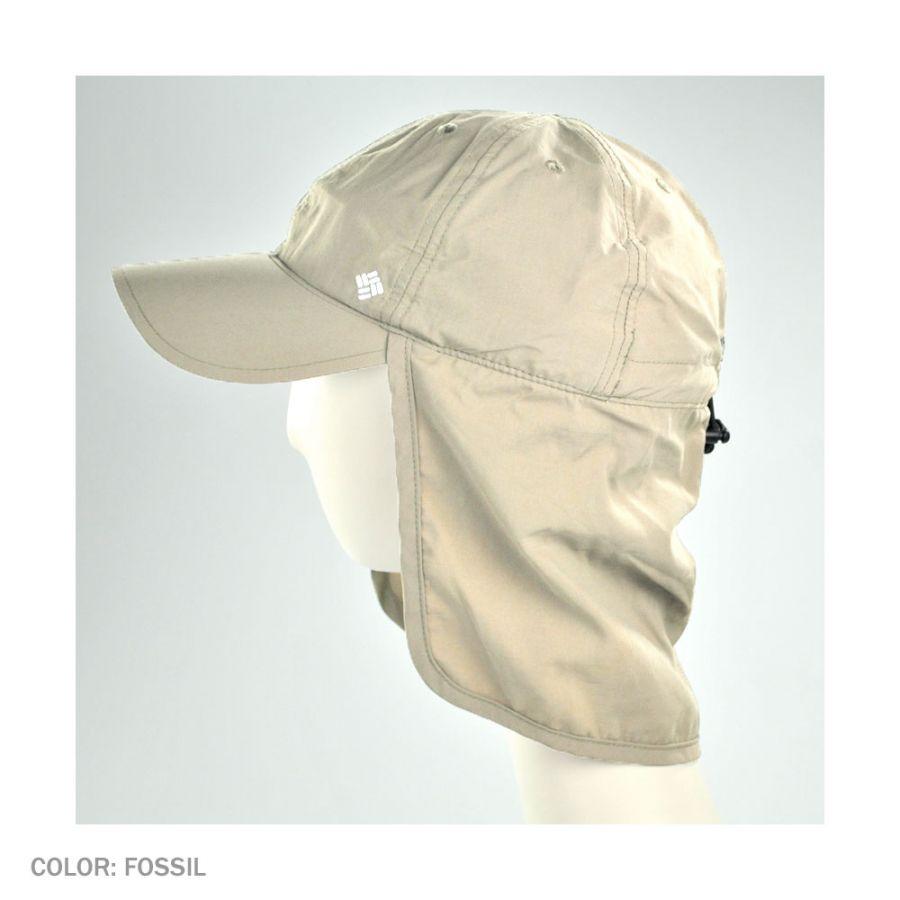 dfe839228d1 Columbia Sportswear Schooner Bank Cachalot Neckflap Baseball Cap All ...