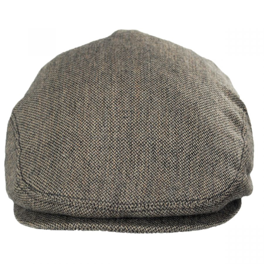 Baskerville Hat Company Merripit Houndstooth Italian Wool Ivy Cap