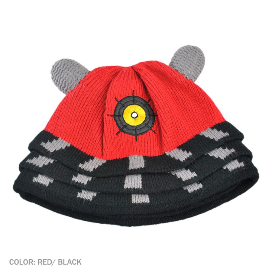 Knitting Pattern For Dalek Hat : Doctor Who Dr. Who Dalek Knit Acrylic Beanie Hat Beanies