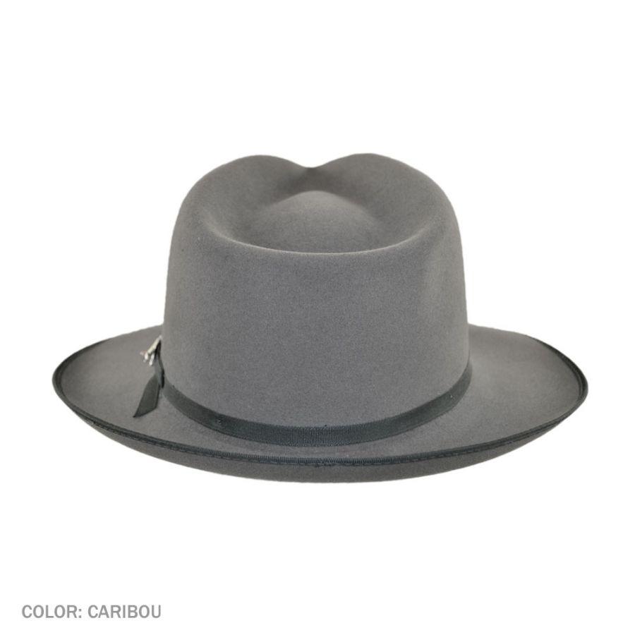 b277290960ce8 Stetson Stratoliner Fur Felt Fedora Hat All Fedoras