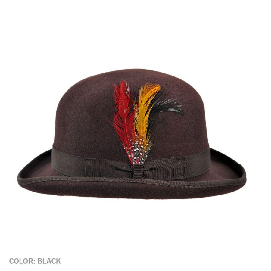 Jaxon Hats English Wool Felt Derby Hat Derby Amp Bowler Hats