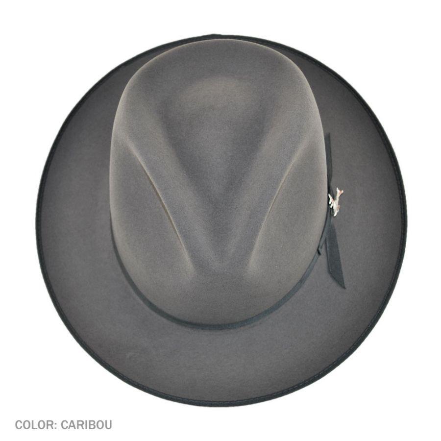 245b7deef68 Stetson Stratoliner Fur Felt Fedora Hat All Fedoras