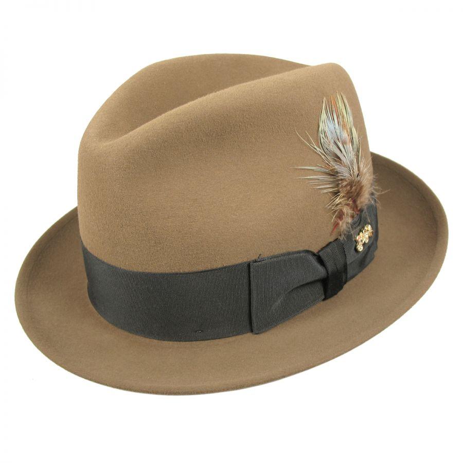 Dobbs Jet Fur Felt Fedora Hat Fur Felt 2279502054