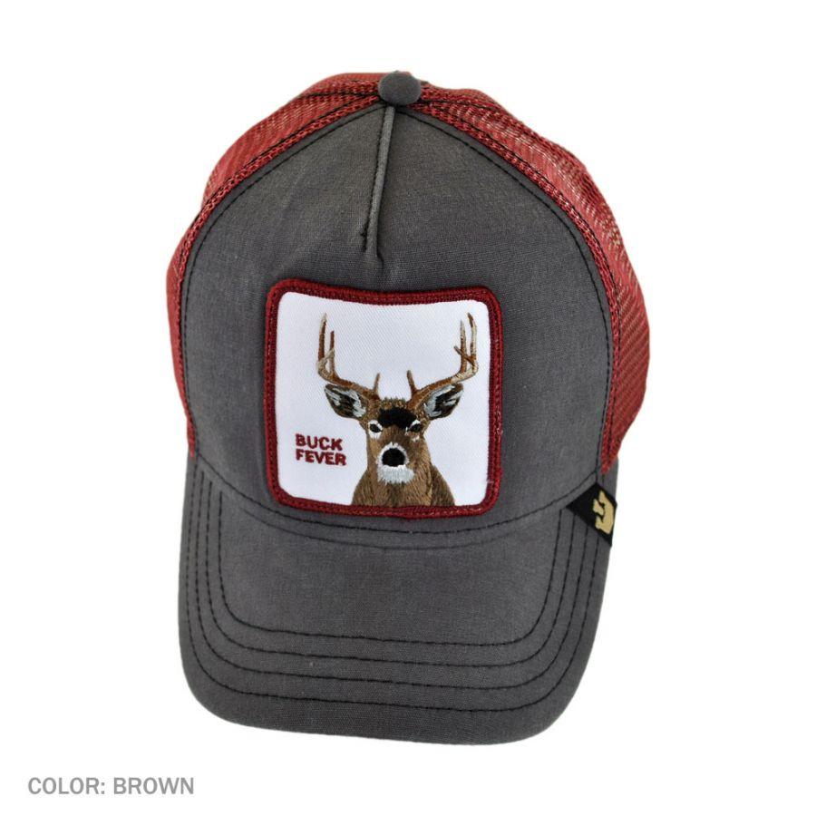 Goorin Bros Buck Fever Mesh Trucker Snapback Baseball Cap Snapback Hats 891908d2bfb