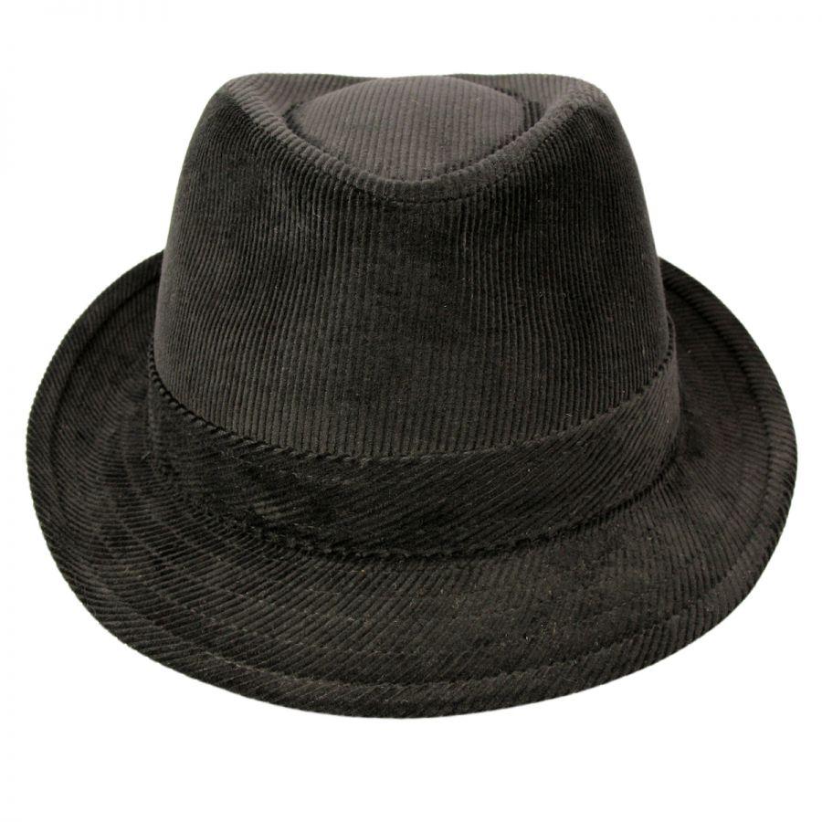Jaxon Hats Corduroy C-Crown Trilby Fedora Hat All Fedoras 730cb18c70ad