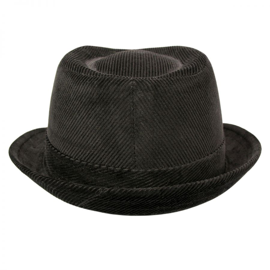 Jaxon Hats Corduroy C-Crown Trilby Fedora Hat All Fedoras 7a646a28c8c0