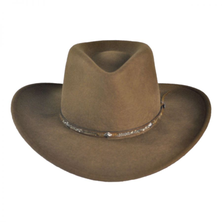 a34a1cf0 Stetson Mountain Sky Crushable Outback Hat All Fedoras