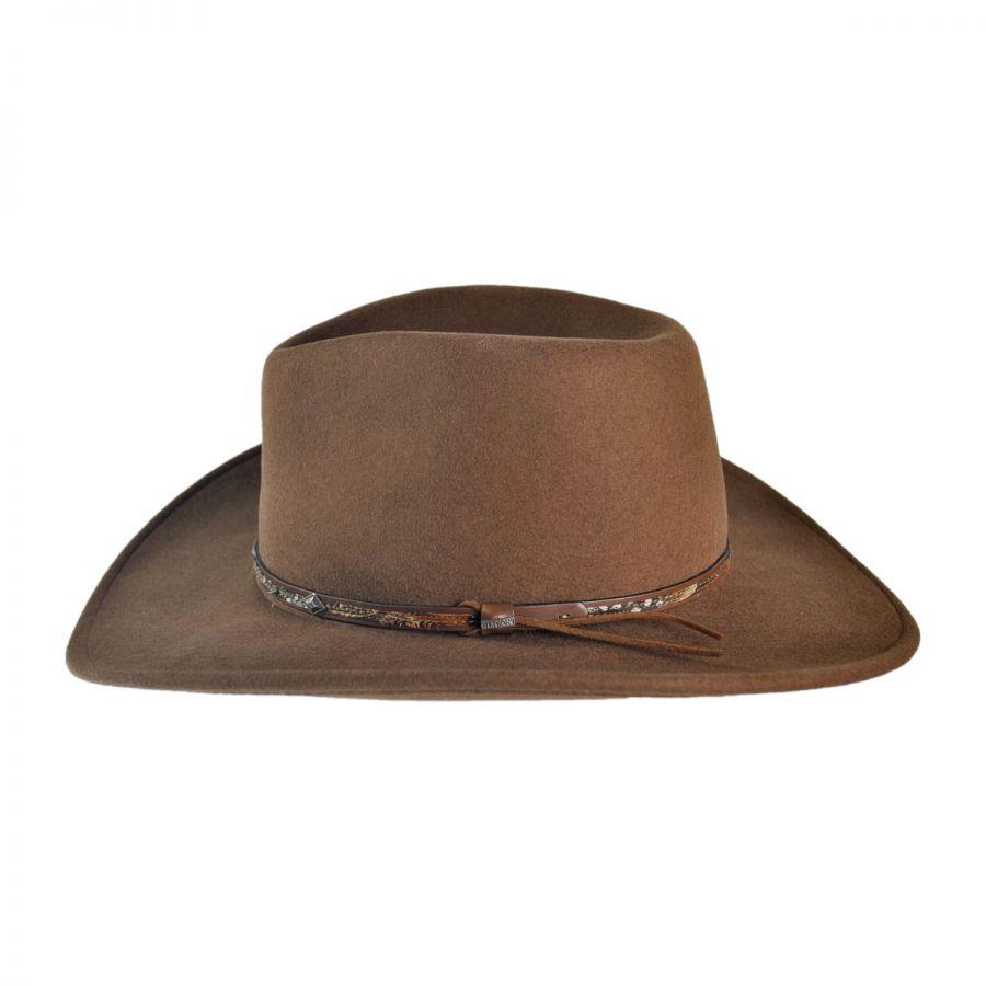 8a04562e1b2ec Stetson Mountain Sky Crushable Outback Hat All Fedoras