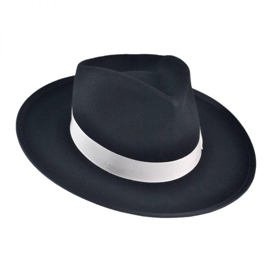 750d7e1fb3621 Jaxon Hats Made in the USA - Classics Zoot Wool Felt Fedora Hat All ...