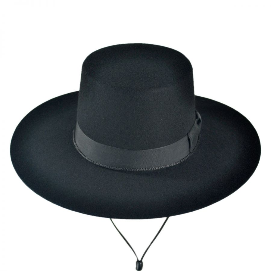 c37cc1bca726b Jaxon Hats Made in the USA - Classics Wool Felt Bolero Hat Novelty ...