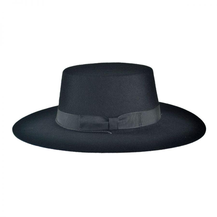 jaxon hats made in the usa classics wool felt bolero hat