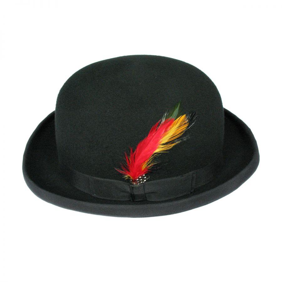 Jaxon Hats English Wool Felt Derby Hat Derby   Bowler Hats 1938b66abd7e