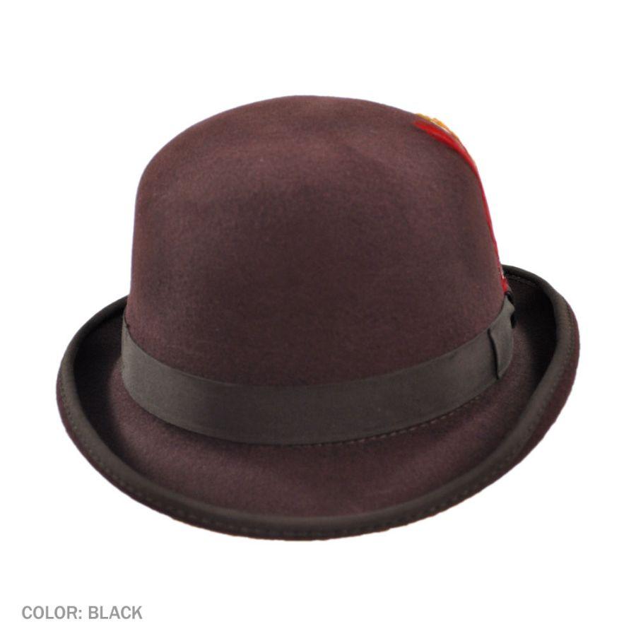 6460b70d Jaxon Hats English Wool Felt Derby Hat Derby & Bowler Hats
