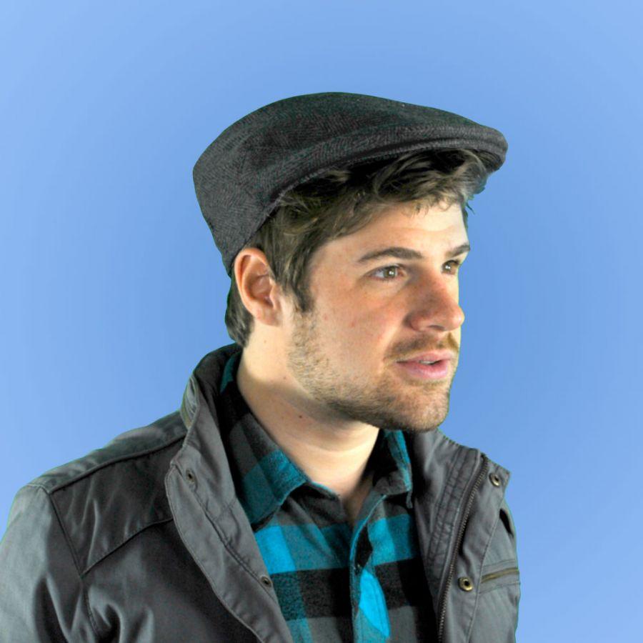 Jaxon Hats Large Herringbone Wool Blend Ivy Cap Ivy Caps 23f8a7f44af6