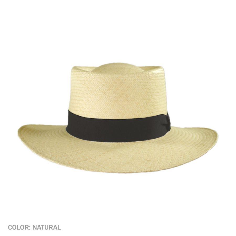 Gambler Straw Hat: Jaxon Hats Cuenca Panama Straw Gambler Hat Straw Hats