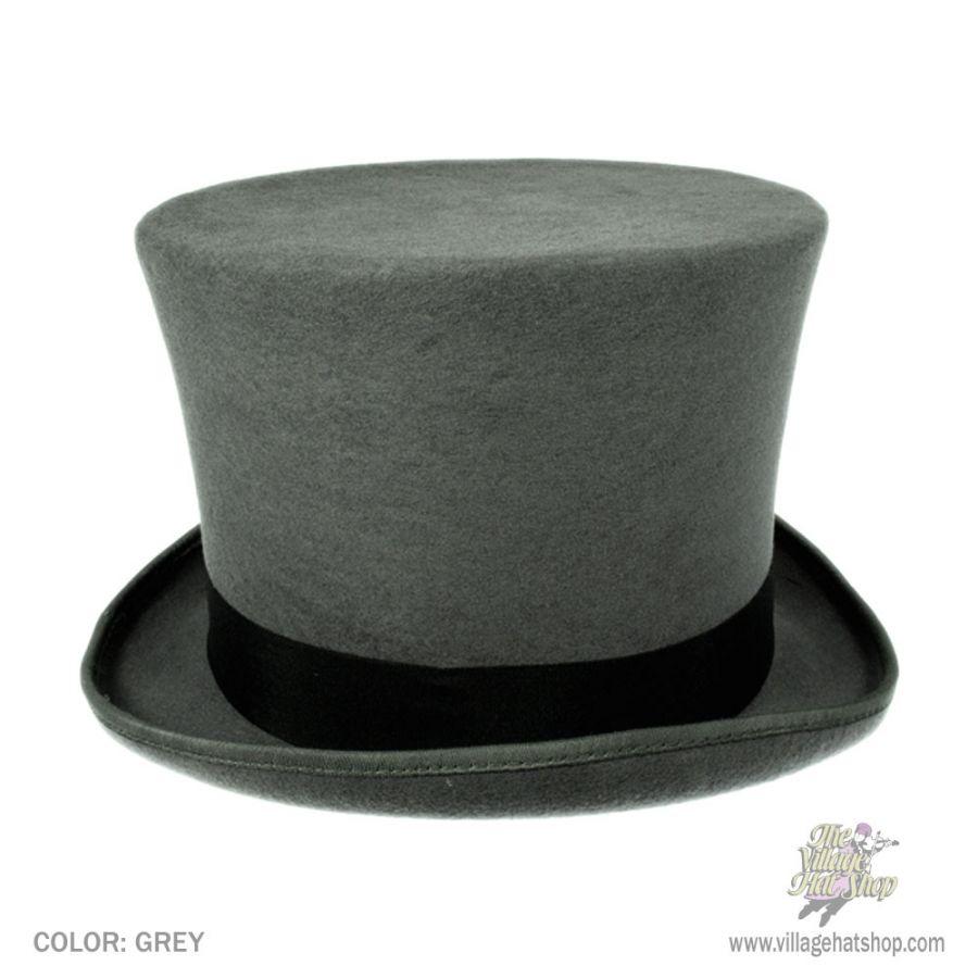 97e2bedeb8e ... hot product 4440e 56de1 Jaxon Hats Victorian Wool Felt Top Hat Top Hats   fantastic savings ...