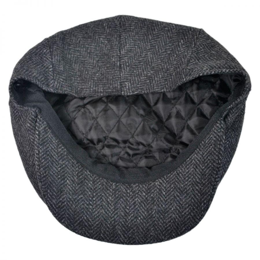 Jaxon Hats Square Bill Herringbone Wool Ivy Cap Ivy Caps c9dc81046aa7