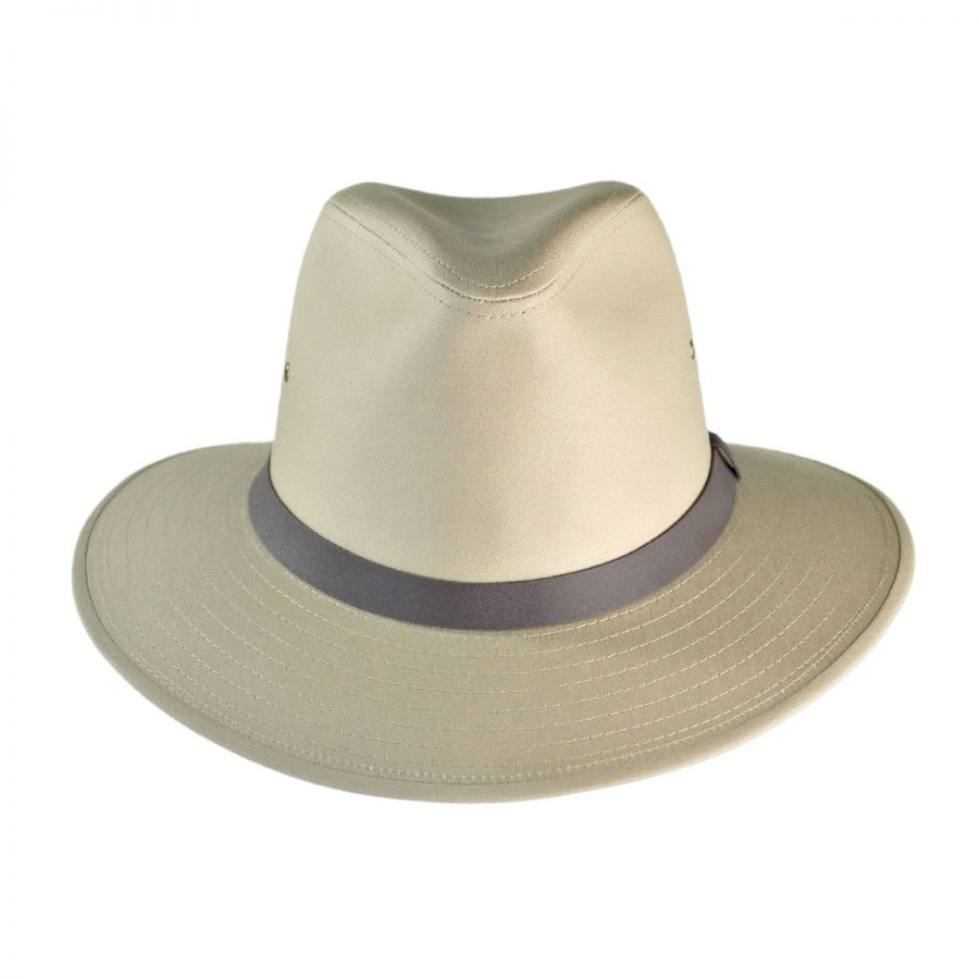 how to clean a cotton fedora hat