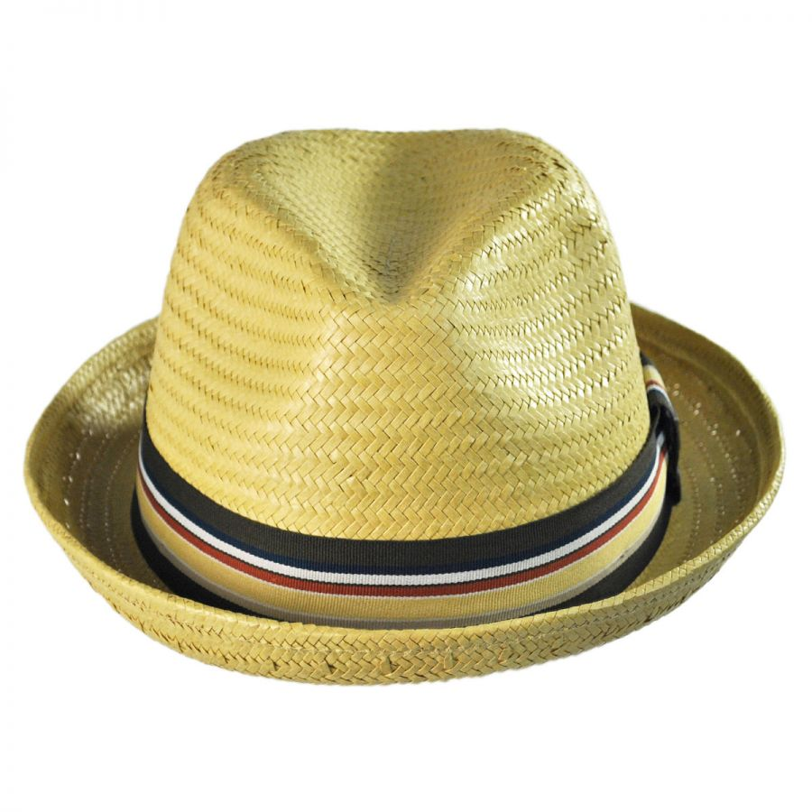 ce314747 Brixton Hats Castor Toyo Straw Fedora Hat All Fedoras