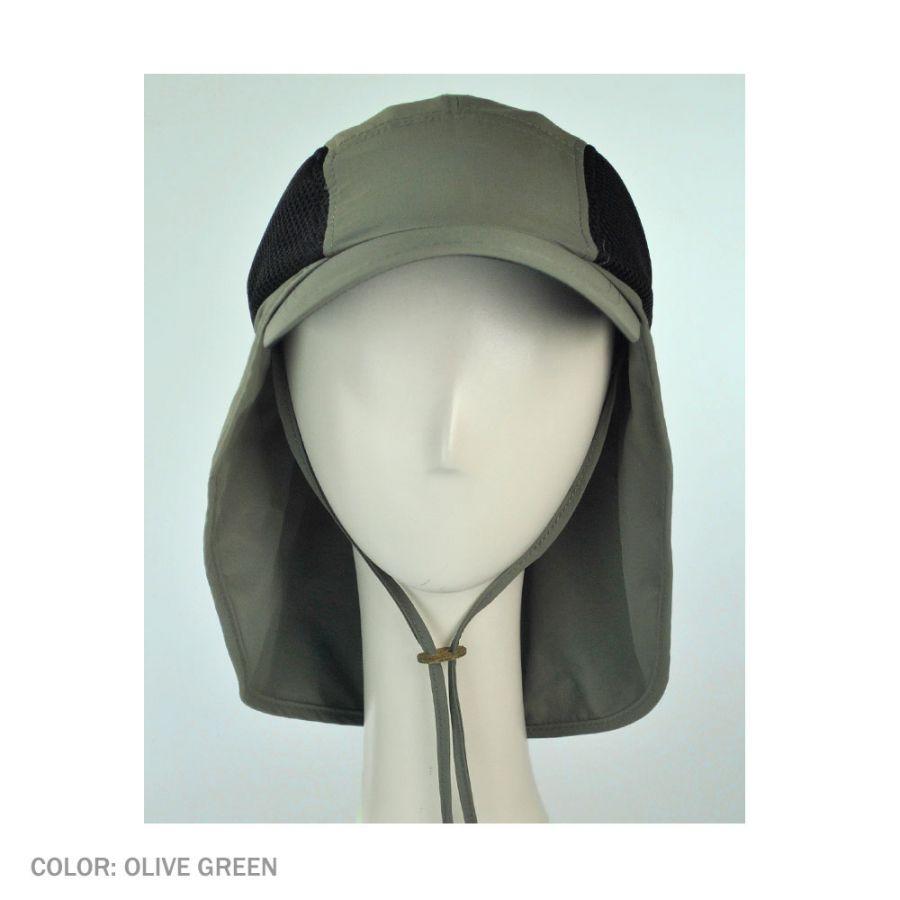 Juniper UV Protection Neck Flap Baseball Cap All Baseball Caps 7f1f0173a