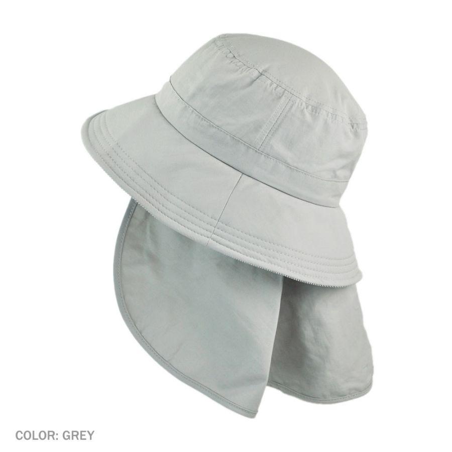 Juniper UV Protection Detachable Flap Bucket Hat Bucket Hats 3f5bbe954c1
