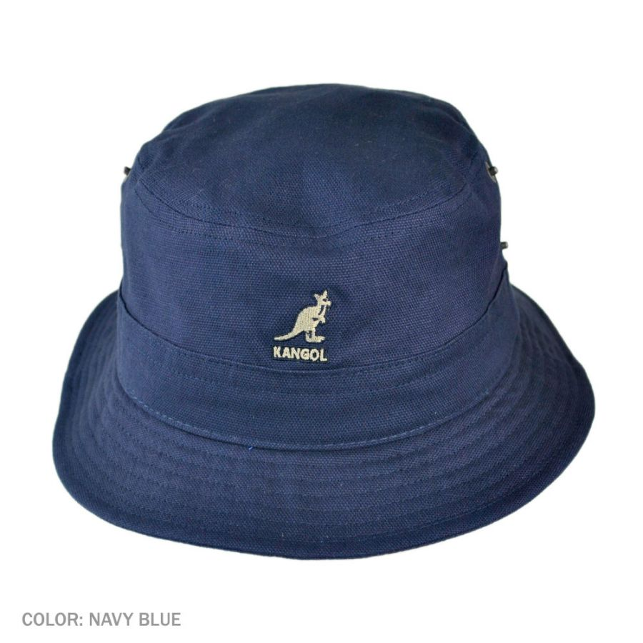5bdc6485cdd Kangol Canvas Lahinch Bucket Hat Bucket Hats
