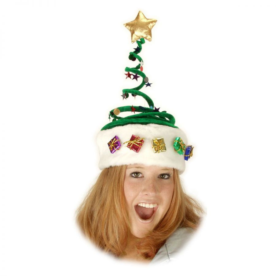 Elope springy christmas tree hat novelty hats view all